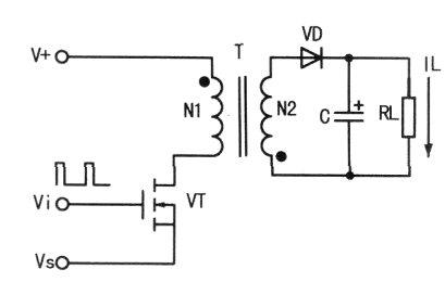 干扰一整流器(vd5~vd8)和cl滤波获得约+300v直流电压